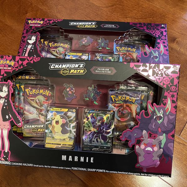 Pokemon Champion's Path Marnie Premium Collection Box