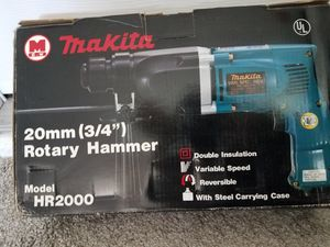 Makita 3/4 inch rotary hammer drill model HR 2000 brand new never used for Sale in Ocala, FL