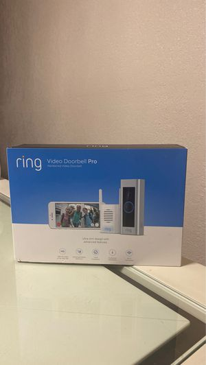Ring Video Doorbell Pro for Sale in Pomona, CA
