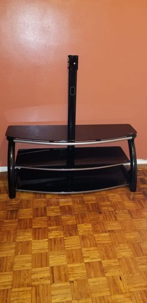 Tv stand glass for Sale in Queens, NY