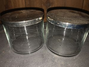 FREE glass candle jars for Sale in Oakland, CA