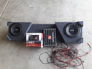 2012 Nissan titan stereo system for Sale in Chandler, AZ
