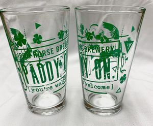 Iron horse Brewery Paddy On glasses for Sale in Edmonds, WA