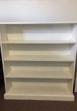 White bookshelf/bookcase for Sale in Springfield, MA