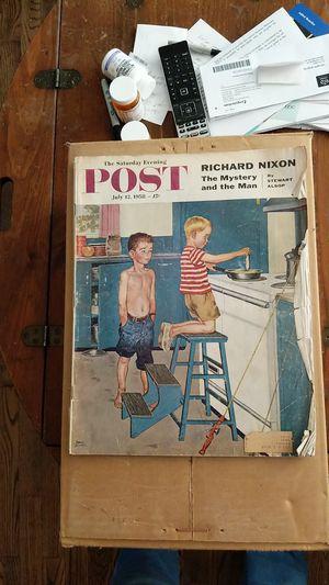 Saturday Evening Post July 12, 1958 magazine for Sale in Wenatchee, WA