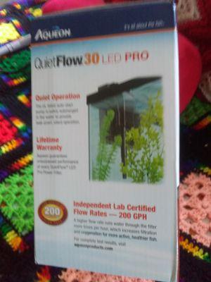 Aqueon 30, aquarium filter for Sale in Phoenix, AZ
