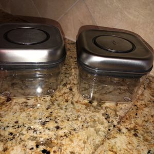 OXO SteeL POP 9-Piece Stainless Steel Food Storage Container Set for Sale in Fort Lauderdale, FL