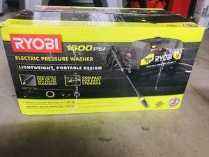 RYOBI 1,600 PSI 1.2 GPM Electric Pressure Washer for Sale in Phoenix, AZ
