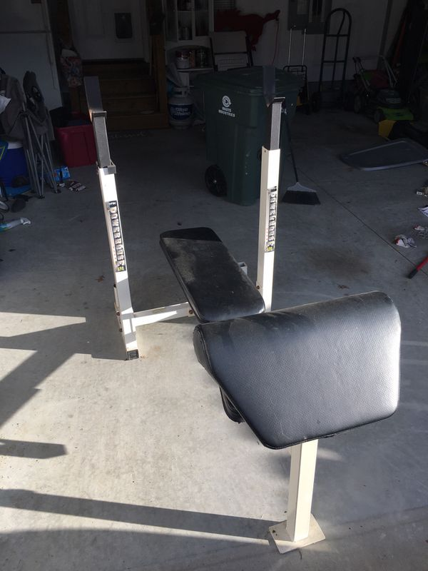 Weight bench only