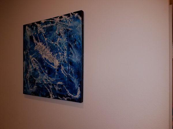 "Abstract art 30""×30"""
