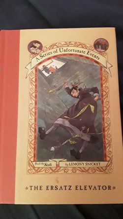 A series of unfortunate events book 6 hardcover for Sale in Killeen,  TX