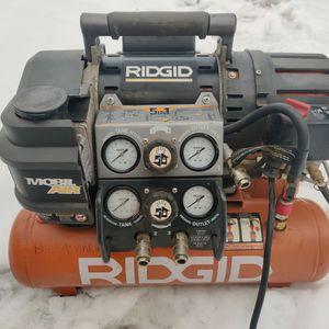 Compressor Rigid TRI-STACK 5 Gallon for Sale in Watchung, NJ