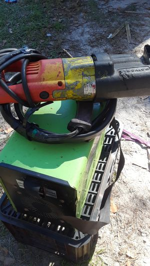 125 amp flux welder and miluaukee sawzall for Sale in Wauchula, FL