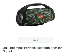 JBL- Boombox Portable Bluetooth Speaker -Squad for Sale in Hawthorne, CA