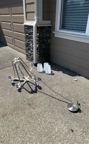 Brushed nickel Chandelier for Sale in Covington, WA