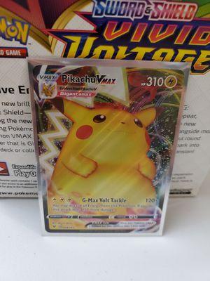 Pikachu Vmax, Pokemon Vivid Voltage for Sale in Everett, WA