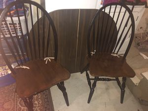 Table & two chairs for Sale in Plainville, CT