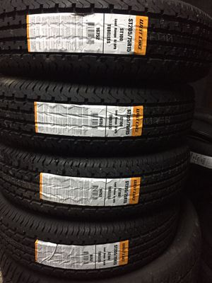 ST205/75/15 TRAILER TIRES for Sale in Arlington, TX