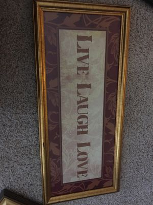 Live, Laugh, Love Picture for Sale in Hanover, MD