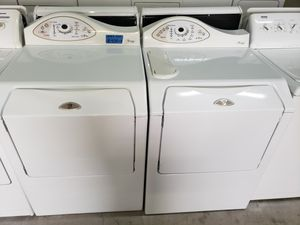 MAYTAG NEPTUNE WASHER AND GAS DRYER for Sale in Modesto, CA