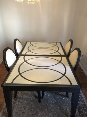 Dining table with extend for Sale in Arlington, VA