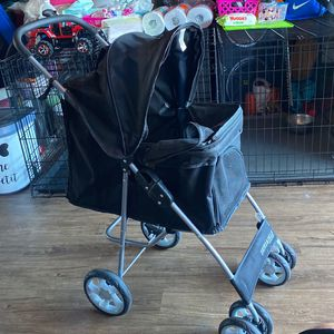 Dog stroller carrito para perro Pet stroller wheels good condition for Sale in Huntington Park, CA
