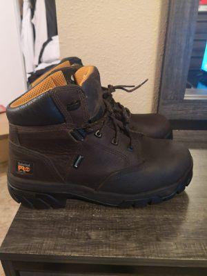 New Timberland pro work boots. Size 10w. Waterproof. Antifatige. Alloy toe. for Sale in Riverside, CA