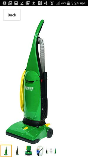BISSELL BigGreen Commercial PowerForce Bagged Lightweight, Upright, Industrial, Vacuum Cleaner, BGU1451T for Sale in Coal City, IL