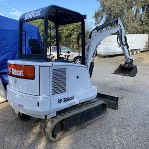BobCat Mini Excavator Model 328 Very good condition and very well taken care of. No oil leaks!!! Only has 2180 hrs. Asking 16,900 OBO Buenas condic for Sale in San Diego, CA