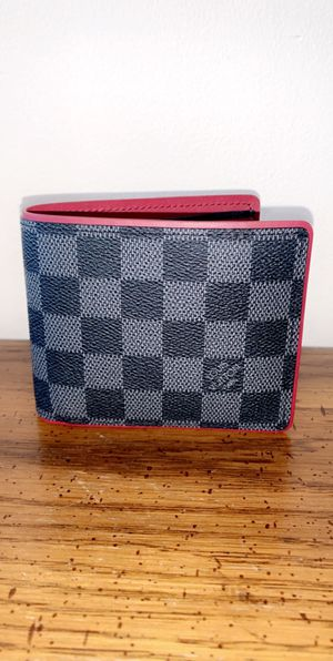 Brand New LV Red Graphite Mens Wallet for Sale in Queens, NY