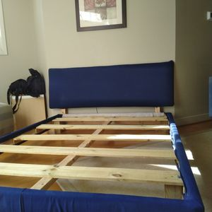 Solid Wood Bed, Queen Size for Sale in Alexandria, VA