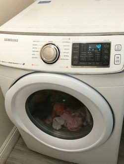 Samsung Dryer Electric Steam Sensor Excellent Working Condition Shoe Rack Free for Sale in Diamond Bar,  CA