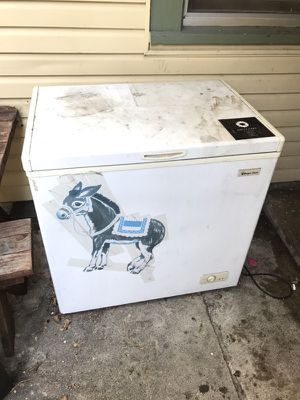 Working deep freezer with free tail-less pin the tail on the donkey for Sale in Oakland, CA