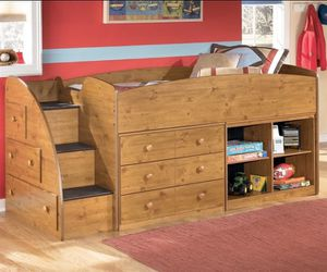 Ashley Furniture Twin Bed / Bunk Bed/ Loft Bed for Sale in San Jose, CA