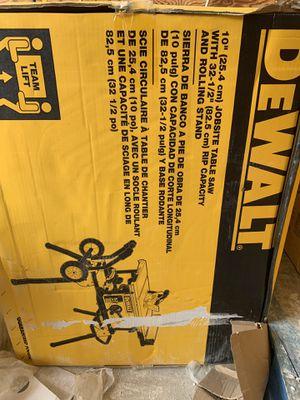 Dewalt table saw for Sale in Acworth, GA