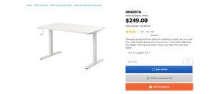 Sit/Stand desk for Sale in Cupertino, CA
