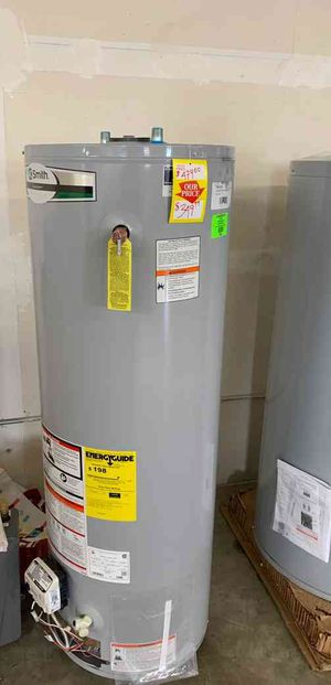 NEW AO SMITH 40 gallon WATER HEATER MOG for Sale in Fort Worth, TX
