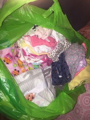 Bag Of Infant Girl Things for Sale in Warren, MI