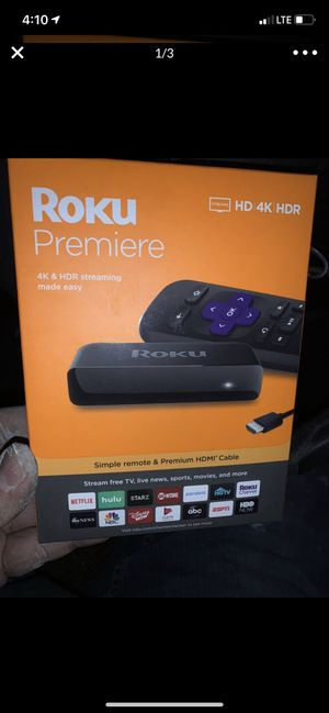 Roku premier for Sale in Lubbock, TX