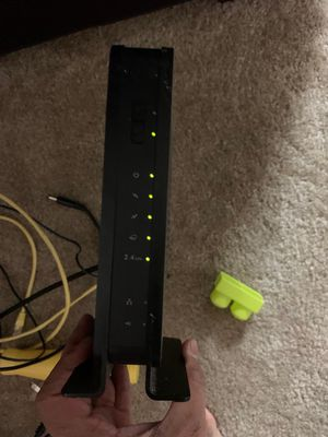 Netgear C3000 modem & router for Sale in San Antonio, TX