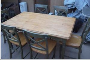 Table and 6 chairs for Sale in Chula Vista, CA