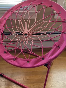 Pink bungee cord children's chair for Sale in Seattle,  WA