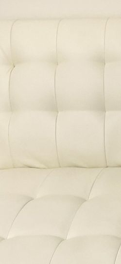 White Faux Leather futon for Sale in Troy,  MI