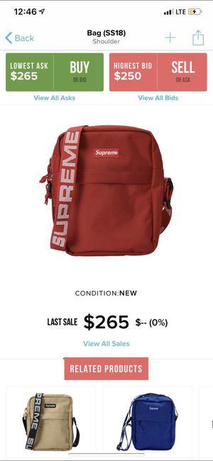 Supreme Red Shoulder Bag SS18 for Sale in Aloma, FL