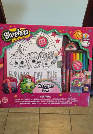 Shopkins keepsake box for Sale in Visalia, CA