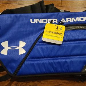 Under Armour Trooper Bat Pack Baseball Softball Storm Weather Resistant Blue Bag for Sale in Woodbury, NJ