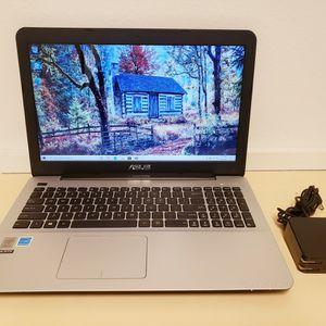 """ASUS X555L / 500GB HDD / 12GB RAM / i7-5500U 2.40GHz / 15.6"""" / WIN 10 LAPTOP for Sale in Chula Vista, CA"""