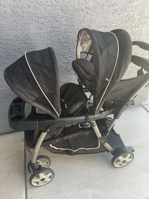 Double stroller $60 for Sale in North Las Vegas, NV