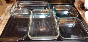 3 Pyrex Glass 9x12 2 Pryex Glass 8x8 for Sale in Plantation, FL