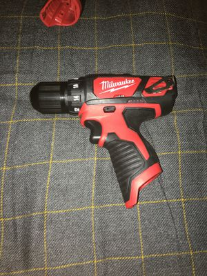 Milwaukee drill/driver for Sale in Waukegan, IL
